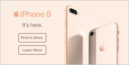 Apple iPhone 8 Find In Store / Learn More
