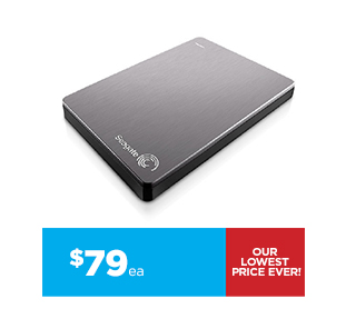 Seagate 1TB Backup Plus Portable Hard Drive