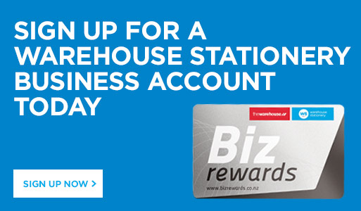 Sign Up now for Biz Rewards
