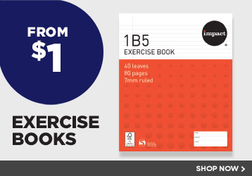 From $1 Exercise Books