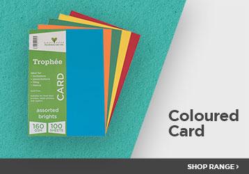 Shop Coloured Card