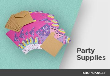 Party Supplies Shop The Range