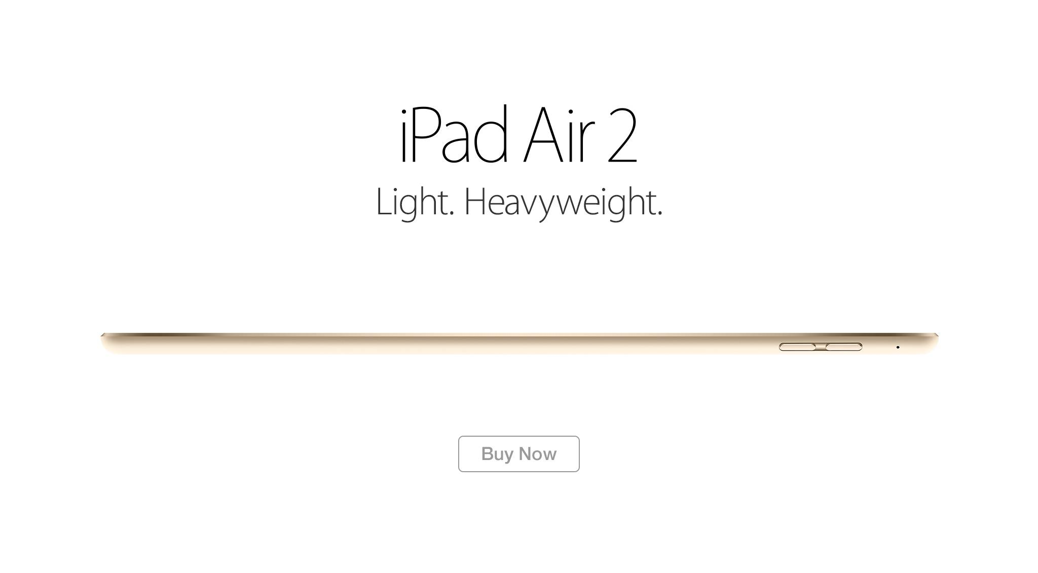 ipad air 2 learn more