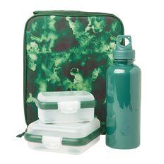 Living & Co Lunch Bag Set Camo Green