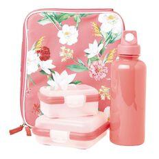 Living & Co Lunch Bag Set Floral Multi-Coloured