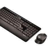 Logitech Wireless Combo Mk345 Black