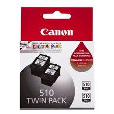 Canon Ink PG510 Black 2 Pack