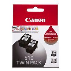 Canon Ink PG510 Black 2 Pack