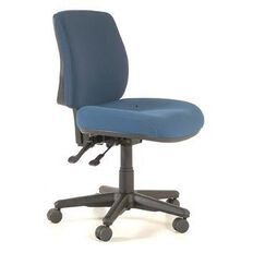 Buro Roma 2 Lever Midback Chair Navy