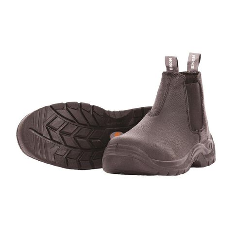 Bison Trade Slip-On Safety Boot With Steel Toecap Size 8