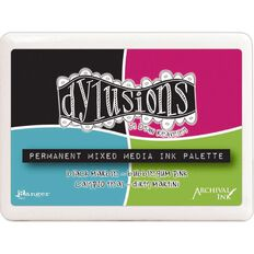 Ranger Dylusions Stamp Pad Mixed Media Palette
