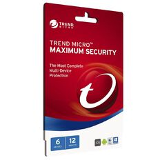 Trend Micro Max Security 6 Device 12 Month
