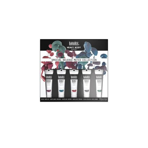 Liquitex Hb Acrylic 59ml Muted Collection 5 Pack