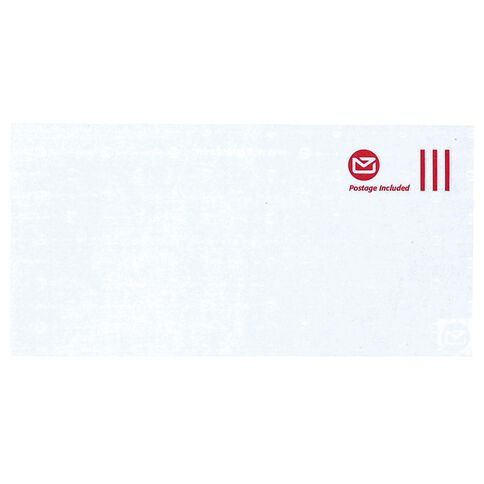 New Zealand Post DLE Envelope Prepaid Non Window 500 Pack