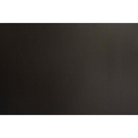 Plasti-Flute Sheet 600mm x 450mm Black