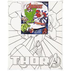Avengers Paint Your Own Canvas 20cm x 25cm 2 Pack