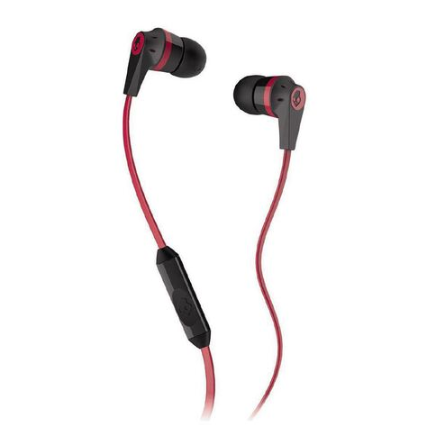 Skullcandy Ink'd Earbuds Red