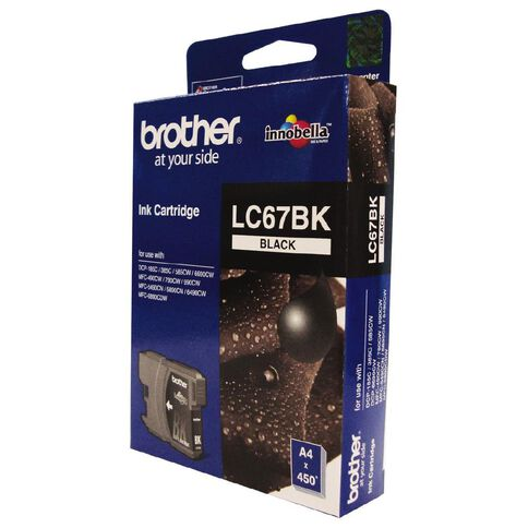 Brother Ink LC67 Black (450 Pages)