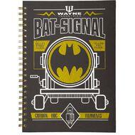 Batman Hardcover Notebook Spiral A4
