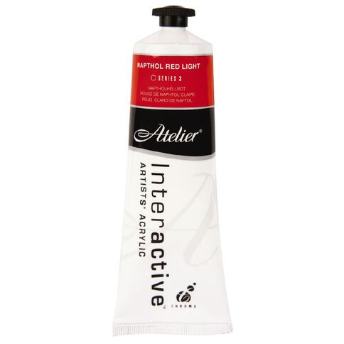 Atelier S3 Napthol 80ml Light Red Red