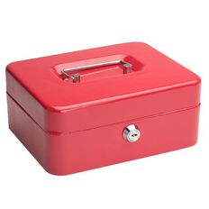 Impact Cash Box Red 8 inch