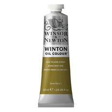 Winsor & Newton Winton Oil Azo Yellow Green 37ml
