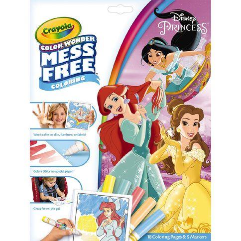 Crayola Colour Wonder Disney Princess