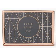 Uniti Photo Frame 6 x 4 Rose Gold
