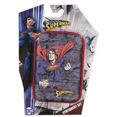 Superman DC Comics Stationery Set