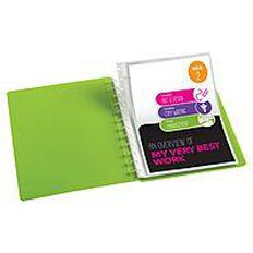ColourHide Custom Display Book Refills 10 Pack Clear A4