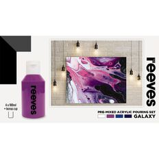Reeves Paint Pouring Set Galaxy 4 Pack