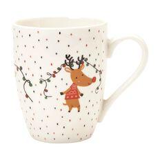 Wonderland Christmas Mug Reindeer