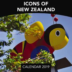 BrownTrout Calendar 2019 Icons of New Zealand Mini