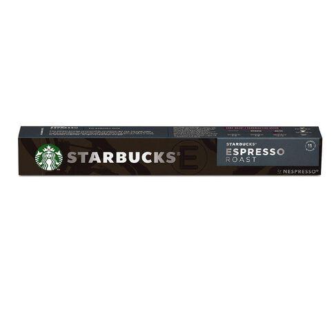 Starbucks by Nespresso Coffee Capsule Espresso Roast 10x57g