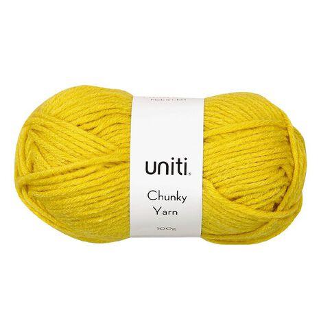 Uniti Yarn Chunky 100g Mustard