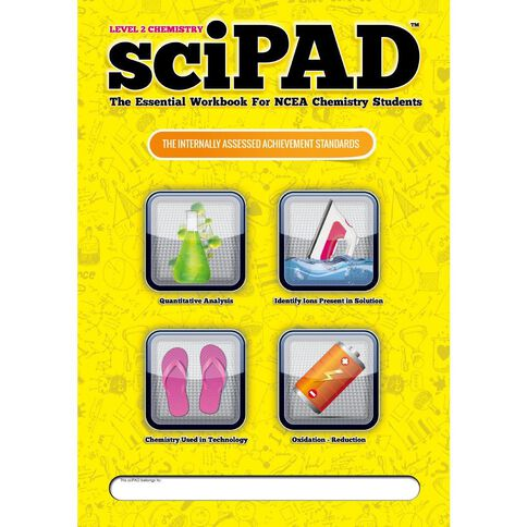 Ncea Year 12 Scipad Chemistry Internals