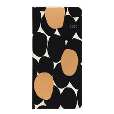 Dats Diary 2020 Week To View Soft PU Feel Slimline Assorted