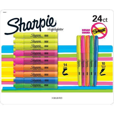 Sharpie Highlighter Mixed 24Ct