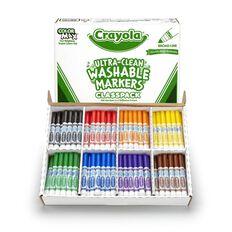 Crayola Washable Markers Classpack X200