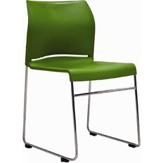 Buro Seating Envy Stacker Chair Green