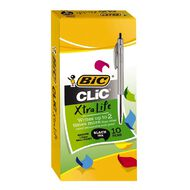 Bic Clic Pen 2000 10 Pack Black