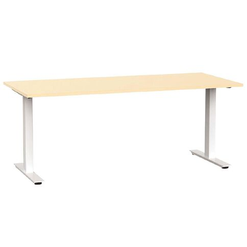 Agile Desk 1800 Nordic Maple/White