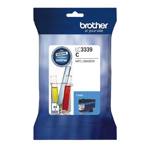 Brother Ink LC3339XLC Cyan (5000 Pages)