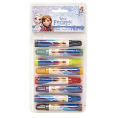Frozen Chunky Markers 8 Pack