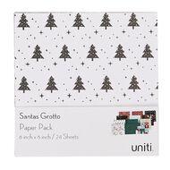 Uniti Santas Grotto Paper Pad 6in x 6in