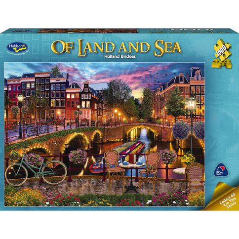Land & Sea Series 2 1000 Piece Puzzle Assorted