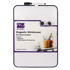Modish Magnetic Whiteboard Large