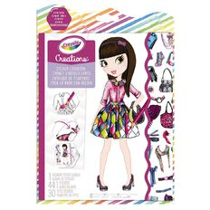 Crayola Creations Sticker Look Book