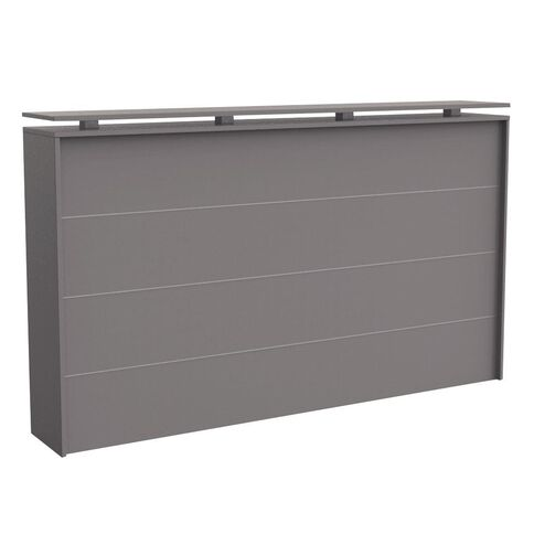 Cubit Reception Counter Silver