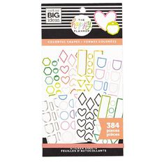 Me & My Big Ideas Sticker Book Shapes